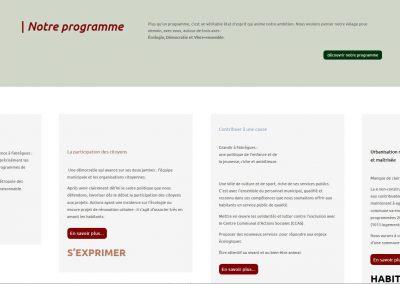 page du site web de la fabrique citoyenne