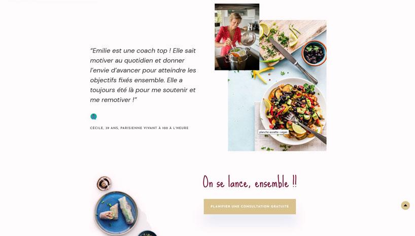 emilie-nicolas-nutrition-capture ecran accueil